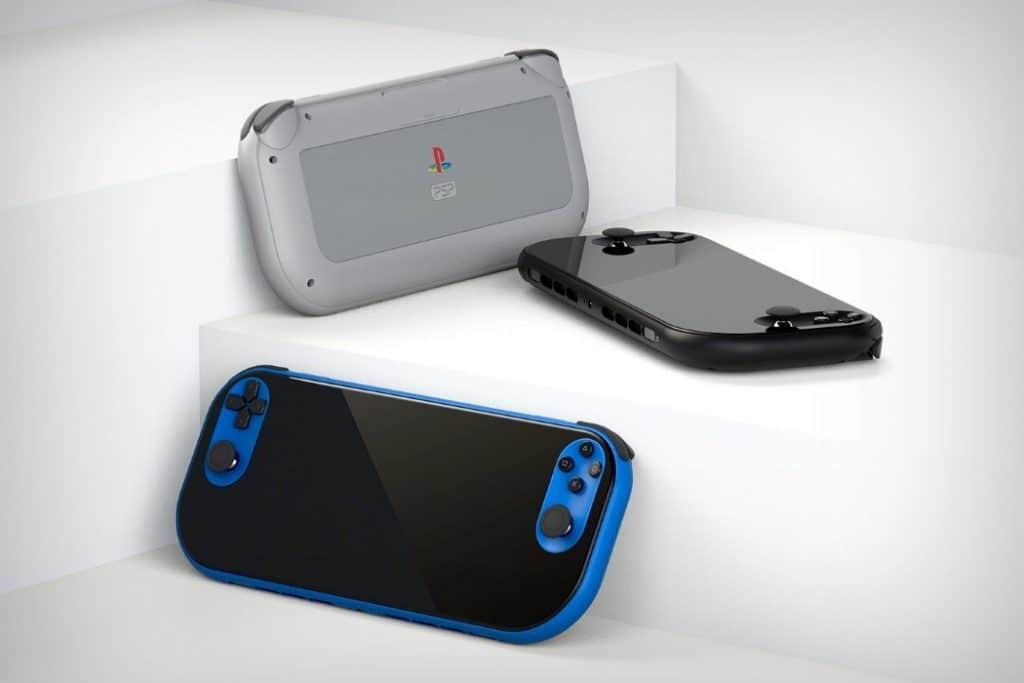 psp concept blue