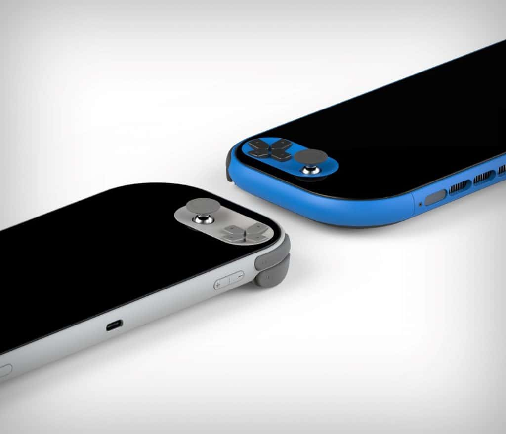 psp concept white and blue