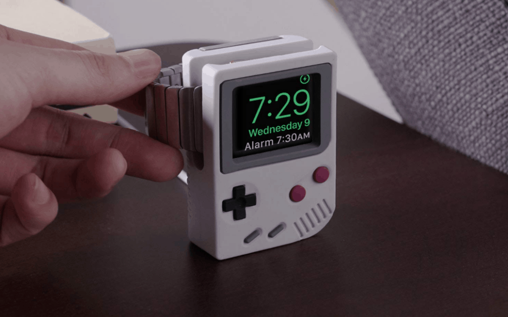 Apple Watch Stand  - silicone bottom means it won't slip around on your surfaces