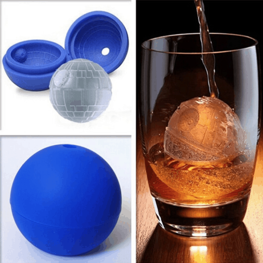 Death Star Ice Cube. Reroofed kitchen products