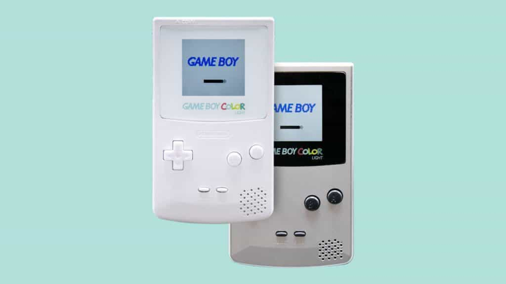 Retro gaming gifts - Gameboy Color