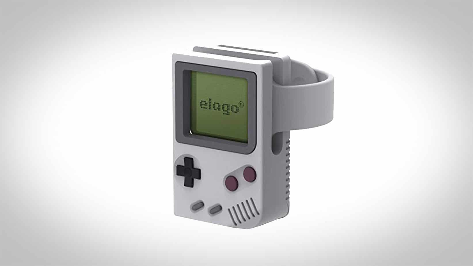 gameboy apple watch stand
