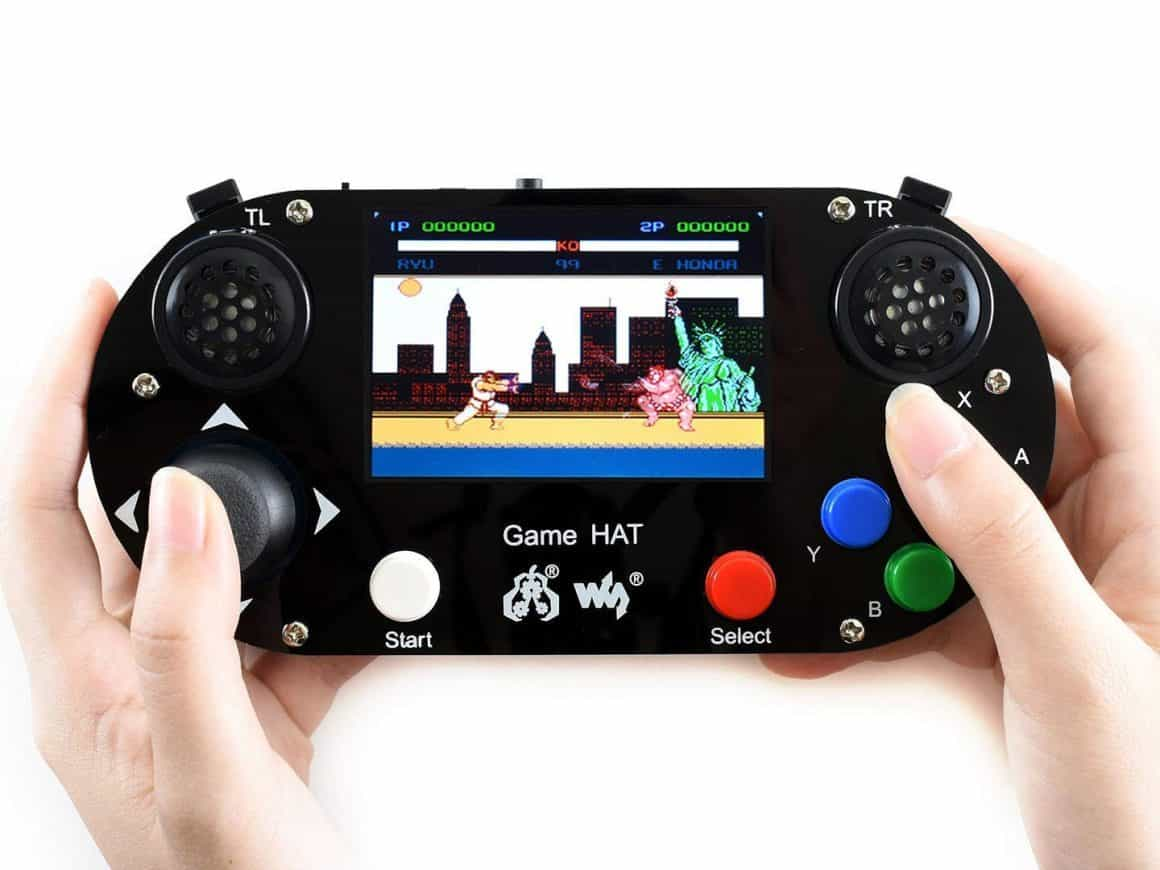 game hat retropie handhelds