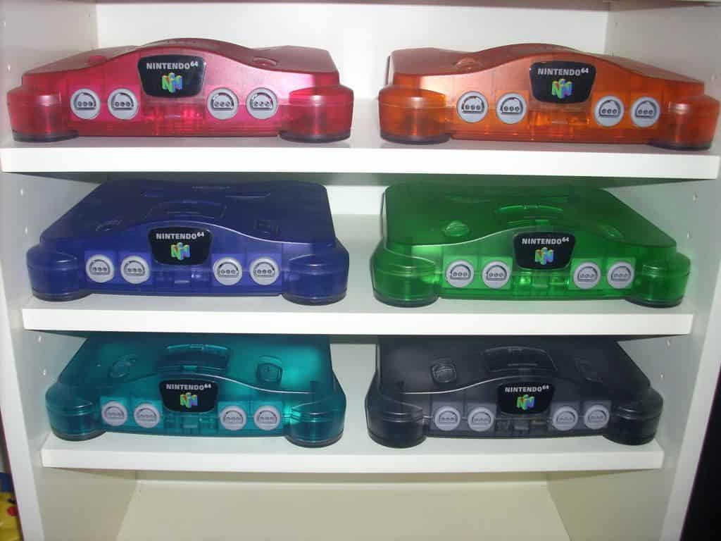 N64 Mini - could we see multiple console colours