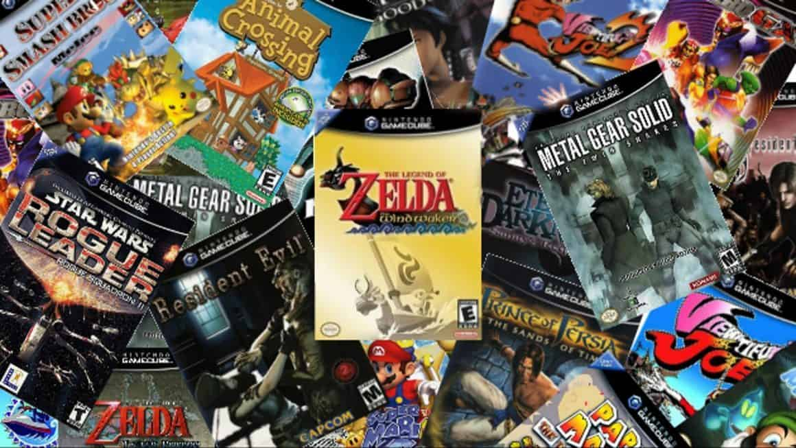 GameCube Mini - a pile of games that might feature on the new console