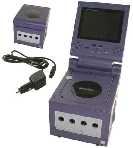 GameCube Mini - A console with a flip up screen. Could this be a reality?