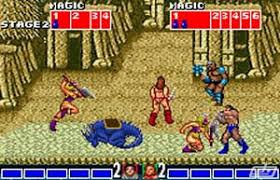 Golden Axe Gameplay - carnage on the streets of Turtle Village