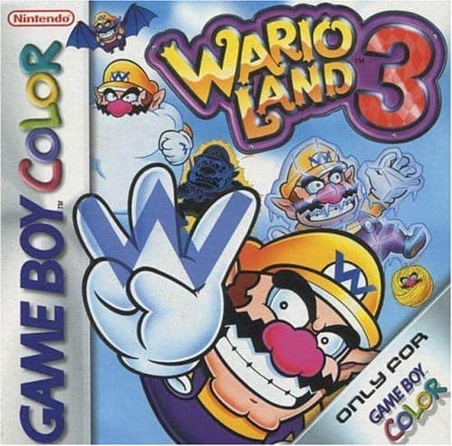 Best GameBoy Colour games - wario land 3 cover