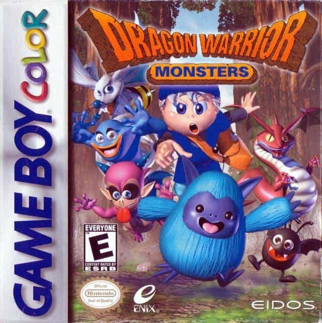 Best GameBoy Colour Games - Dragon Warrior Monsters Cover