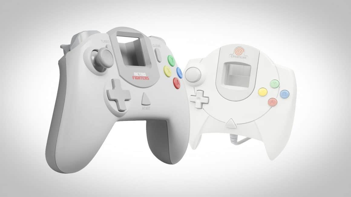 retro fighters dreamcast controller