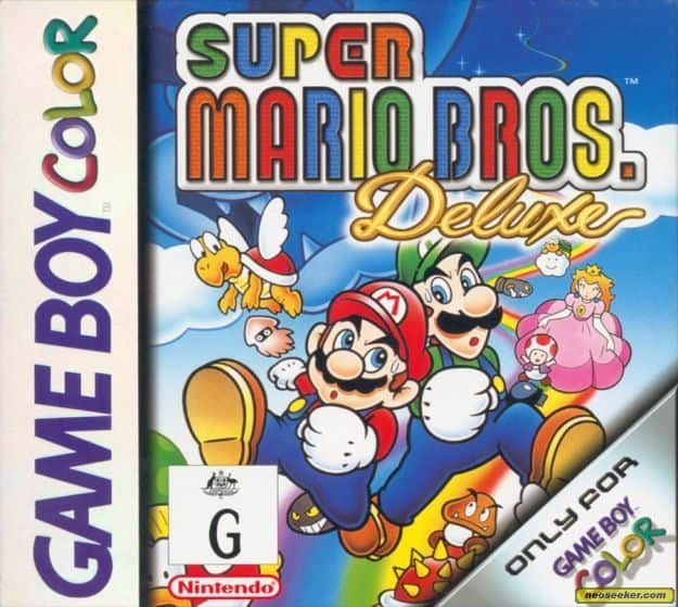 Best GameBoy Colour Games - Mario Bros Deluxe cover