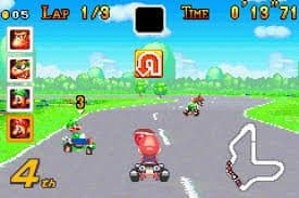 Image result for mario kart super circuit