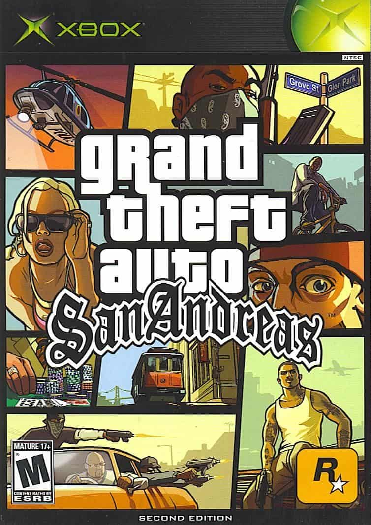 GTA San Andreas - best original xbox games