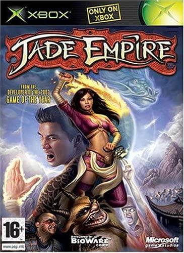 Jade Empire game case - best original xbox games