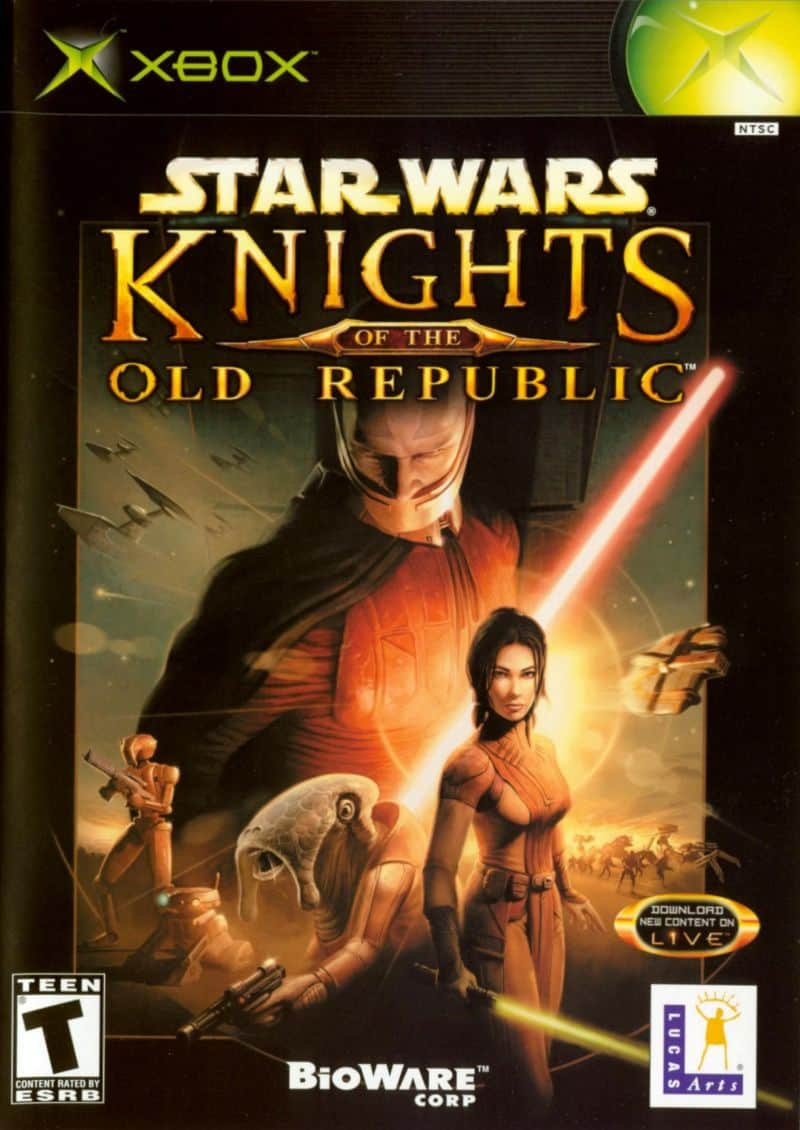 Knights Of The Old Republic - best original xbox games