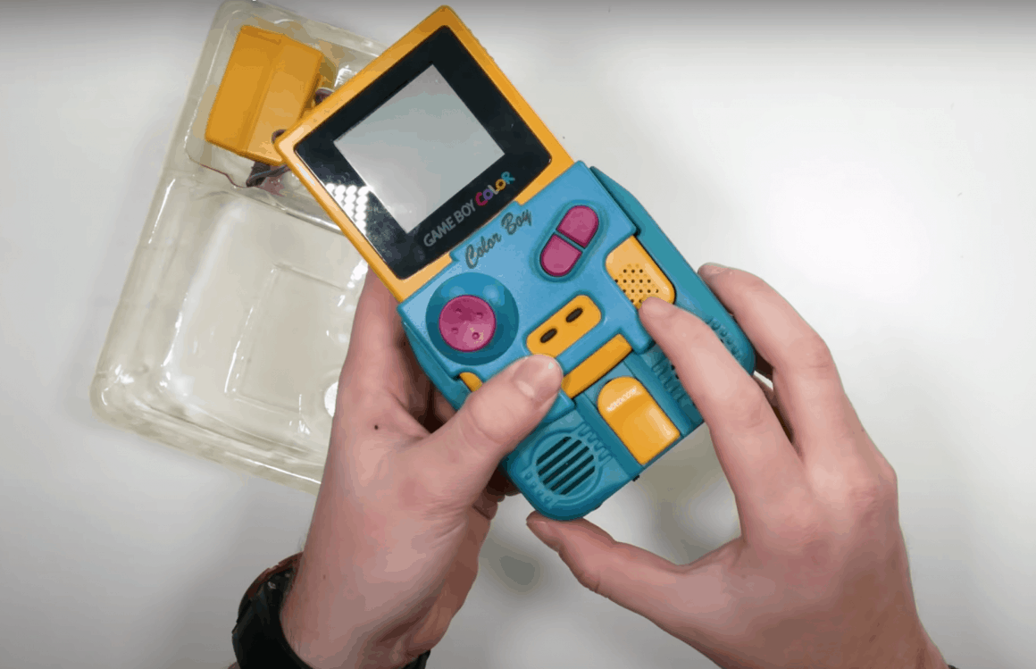 gameboy accessories - The GBC Shake and sound package