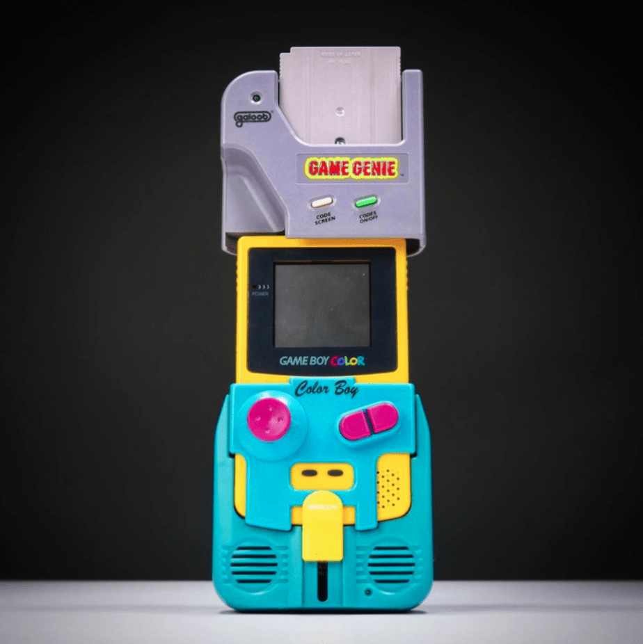 game genie gameboy color