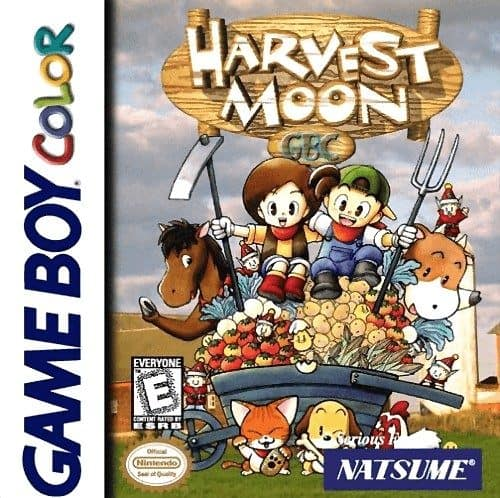 Best GameBoy Color games - Harvest Moon Game Case