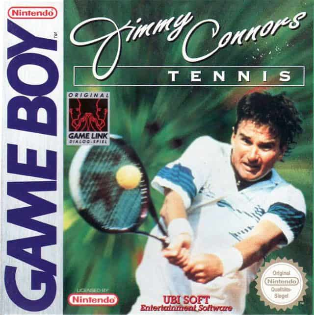 Rare Gameboy Games - Jimmy Connors' Tennis