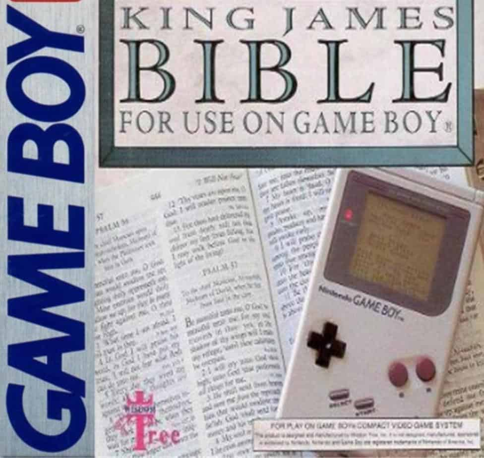 Rare Gameboy Games - King James Bible