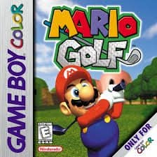 Best GameBoy Color games - Mario Golf game case