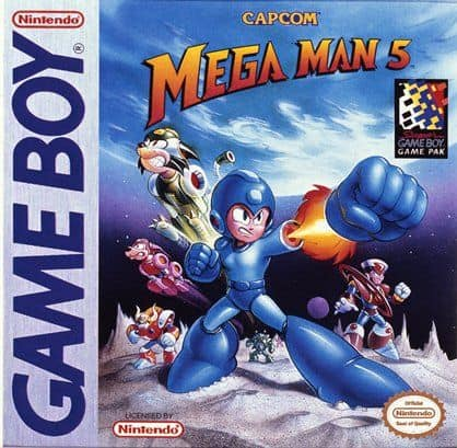 Rare Gameboy Games - Mega Man V