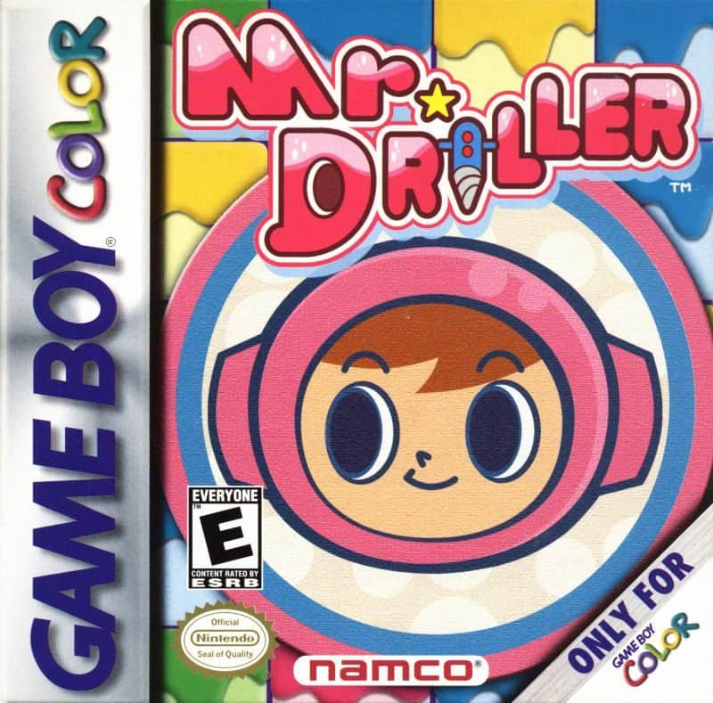 best gameboy color games - mr driller