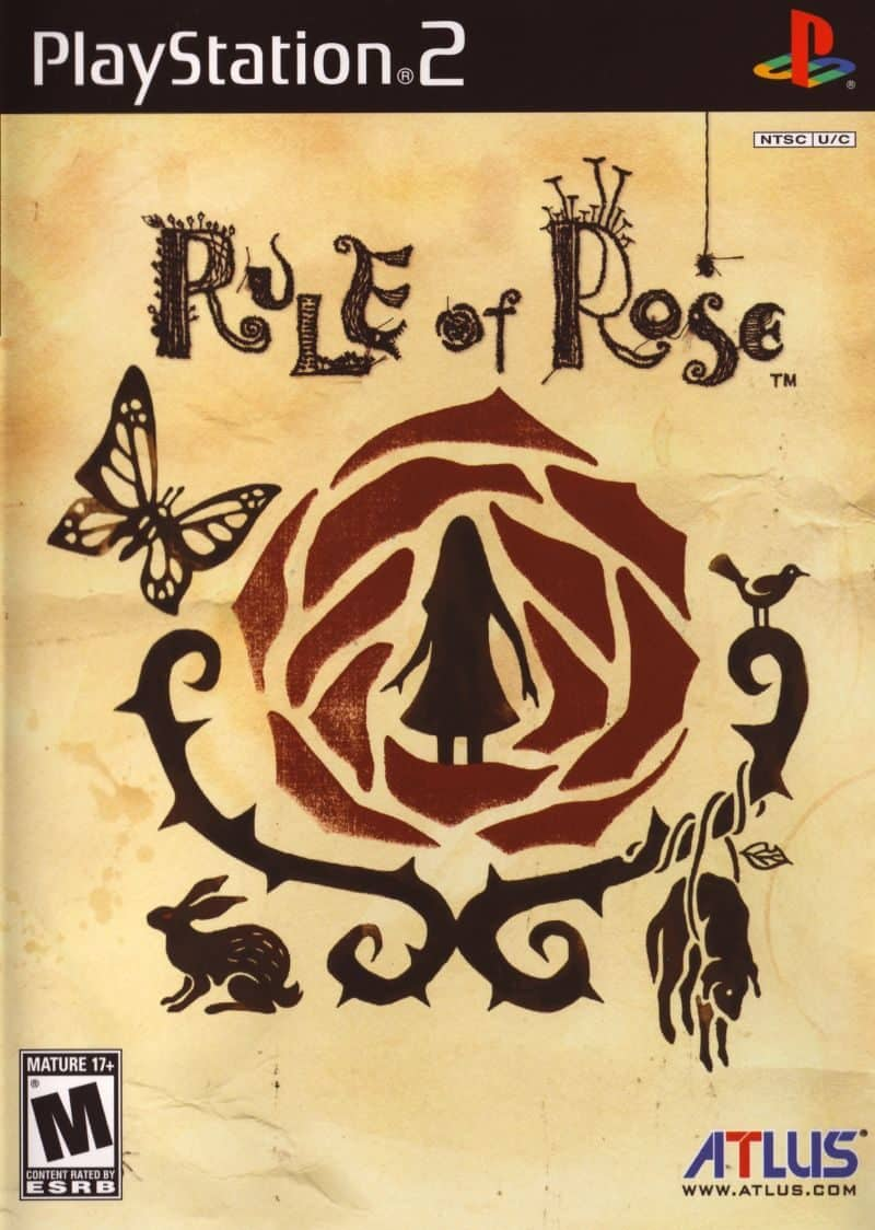Rule of rose - rare PS2 games