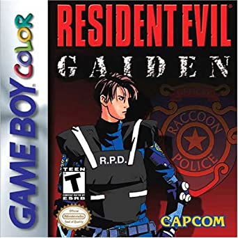 Best GameBoy Color games - Resident Evil GBC Game Case