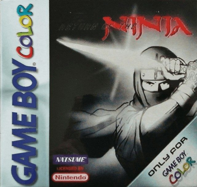 best gameboy color games - return of the ninja game case