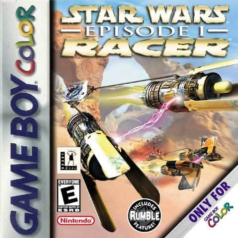 best gameboy color games - star wars pod racer