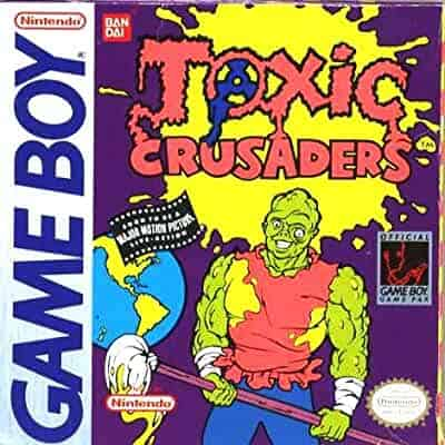 Rare Gameboy Games - Toxic Crusaders
