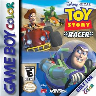 Best GameBoy Color games - Toy Story Racer game case