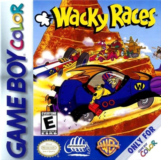 best gameboy color games - Wacky races