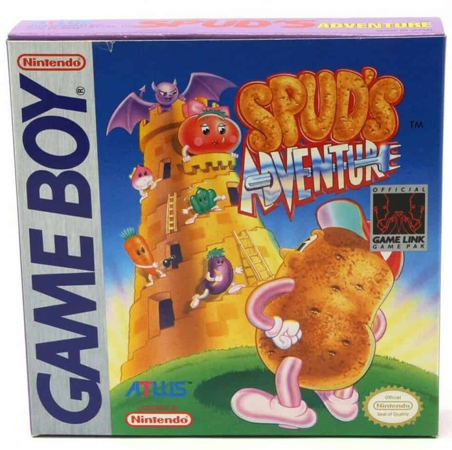 Rare Gameboy Games - Spuds Adventure
