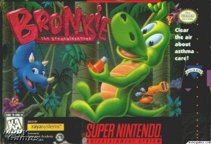 Rare SNES games - Bronki
