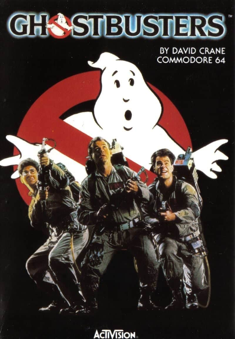 Best Commodore 64 Games - Ghostbusters