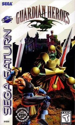 Best Sega Saturn Games - Guardian Heroes