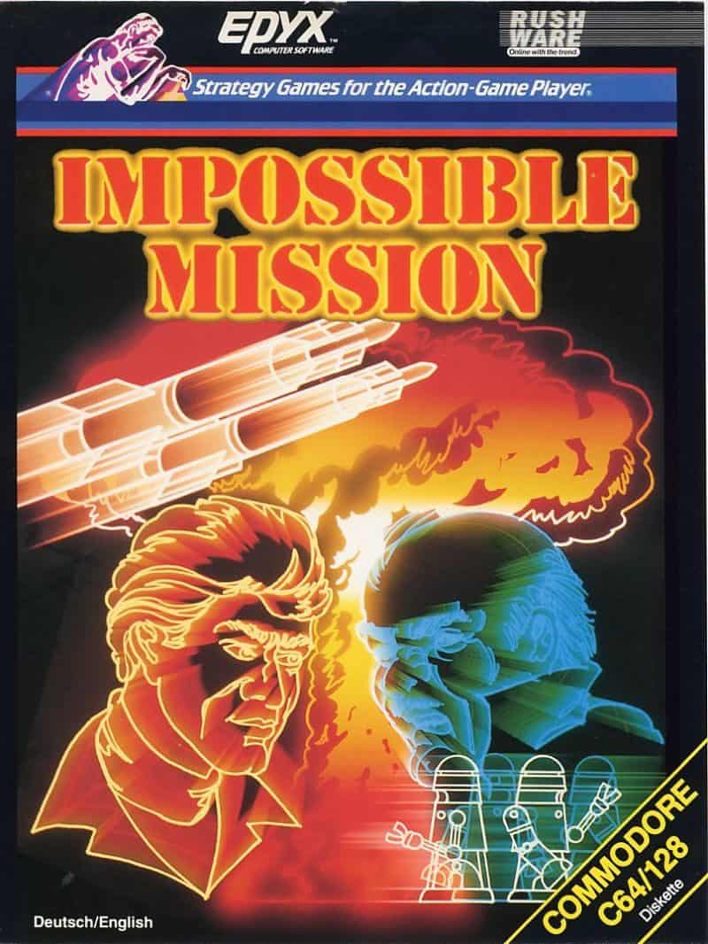 Best Commodore 64 Games - Impossible Mission