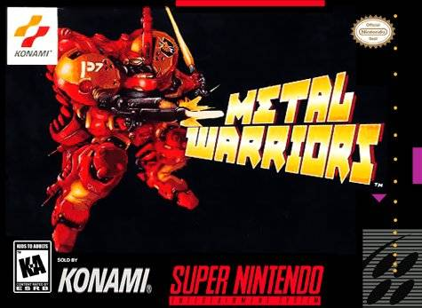 Rare SNES games - Metal Warriors