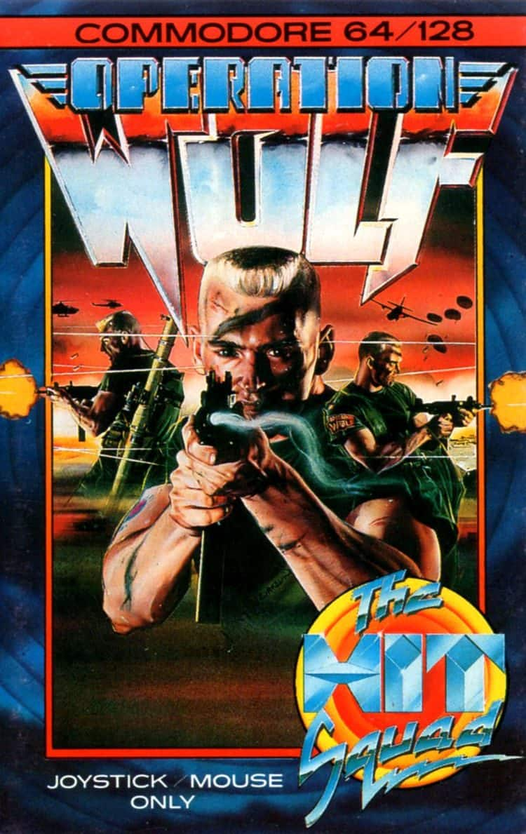 Best Commodore 64 Games - Operation Wolf