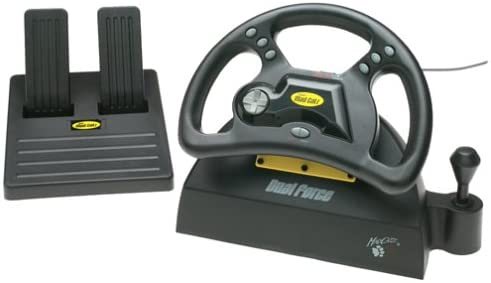 Mad Catz racing wheel for the PlayStation 1