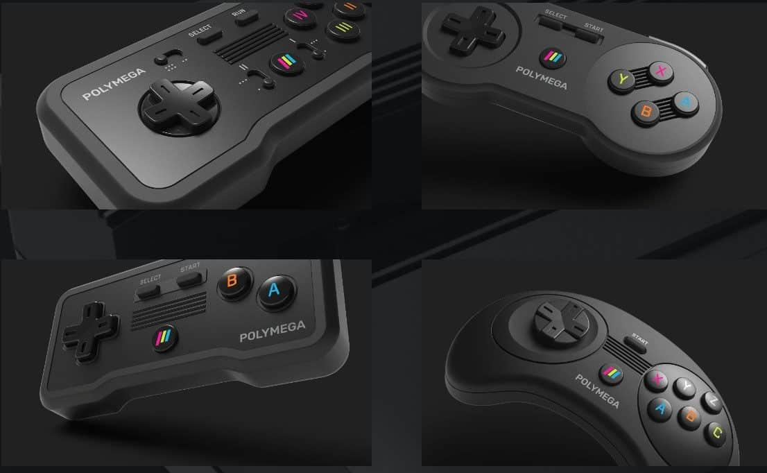 Polymega controllers