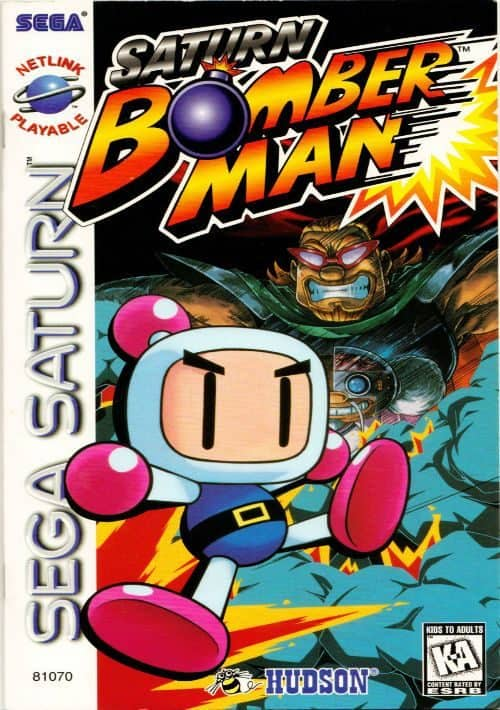 Best Sega Saturn Games - Bomberman
