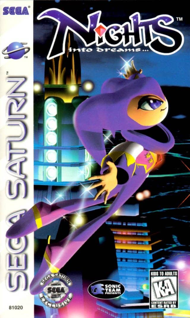 Best Sega Saturn Games - Nights into Dreams