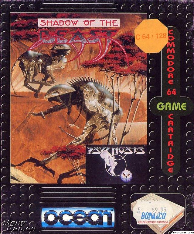 Best Commodore 64 Games - Shadow Of The Beast