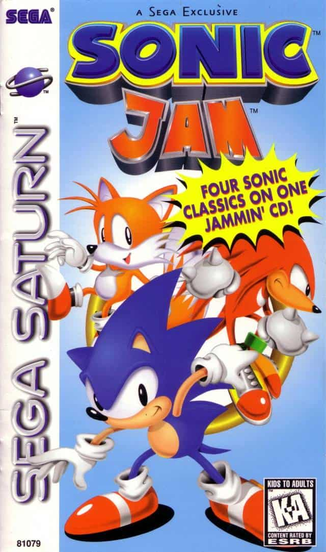 Best Sega Saturn Games - Sonic Jam