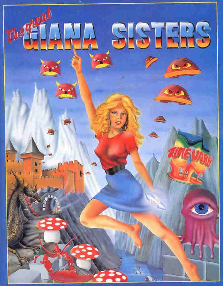 Best Commodore 64 Games - The Giana Sisters
