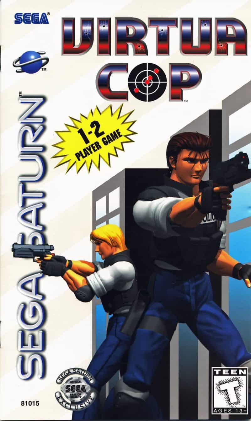 Best Sega Saturn Games - Virtua Cop