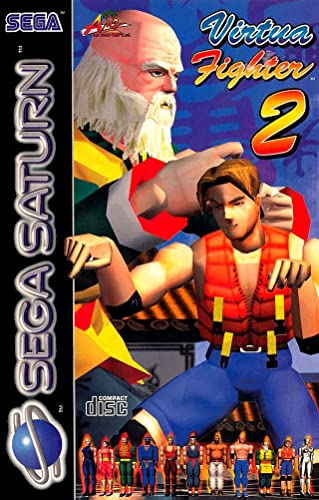 Best Sega Saturn Games - Virtua Fighter 2